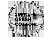 supreme green cotton